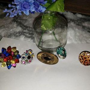 ♦️5 ring bundle FREE w/ $15 purchase